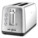 Breville the Toast Control Long 4 Slice Toaster LTA650BSS