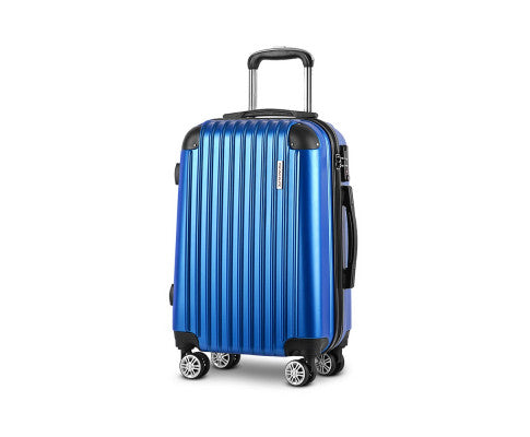 20inch Lightweight Hard Suit Case Luggage - Blue
