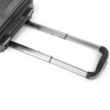 Hard Shell Travel Luggage with TSA Lock Grey