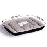 Heavy Duty Pet Bed Mattress Black Size XL