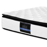 Latex Pillow Top Pocket Spring Mattress King Single