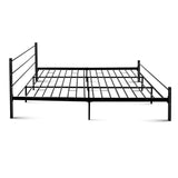 Metal King Bed Frame - Black