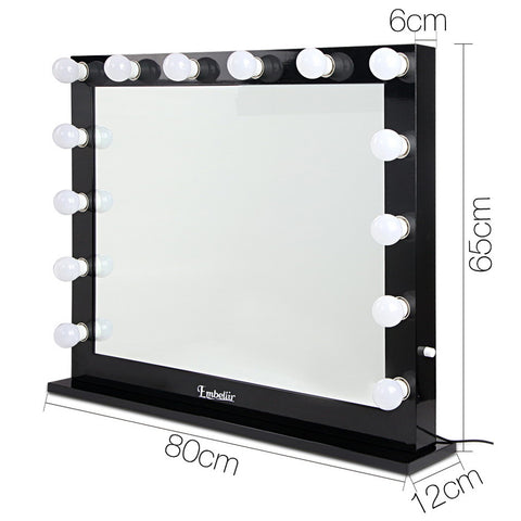 Make Up Mirror Frame With Led Lights 65x8 Afterpay