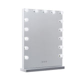 Hollywood Makeup Mirror With Light 15 LED Bulbs Lighted Frameless
