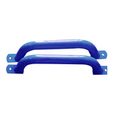 Metal Handle Pair 330mm - Blue