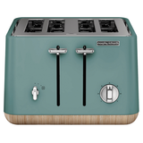 Morphy Richards Scandi Aspect 4 Slice Teal Toaster 240009