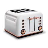 Morphy Richards Accents Rose Gold 4 Slice Toaster 242108