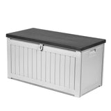 Outdoor Storage Box Bench Seat 190L