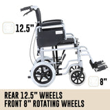 Orthonica Folding Wheelchair - Entourage