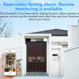 Smart WiFi Video Doorbell Intercom with Extender, Wireless Camera, Real Time Video & Audio Chat, Night Vision