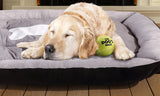 Heavy Duty Pet Bed Mattress Black Size M