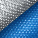 11M X 4.8M Solar Swimming Pool Cover - Blue