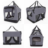 Portable-Soft-Dog-Crate-XL---GREY-NXM-PET-3002XL-GY-afterpay-zippay-oxipay