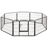 8 Panel Pet Dog Playpen Exercise Enclosure Fence Portable