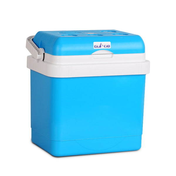 25L 2 in 1 Portable Cooler and Warmer Blue