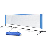 Portable Sports Net Stand Badminton Volleyball Tennis Soccer 3m 3ft Blue