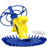 Pool Cleaner Swimming Cleaning Automatic Floor Climb Wall Yellow And Blue