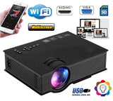 Wi-Fi LED Multimedia 3D Home Theatre Projector Cinema with Smart Phone Connectivity