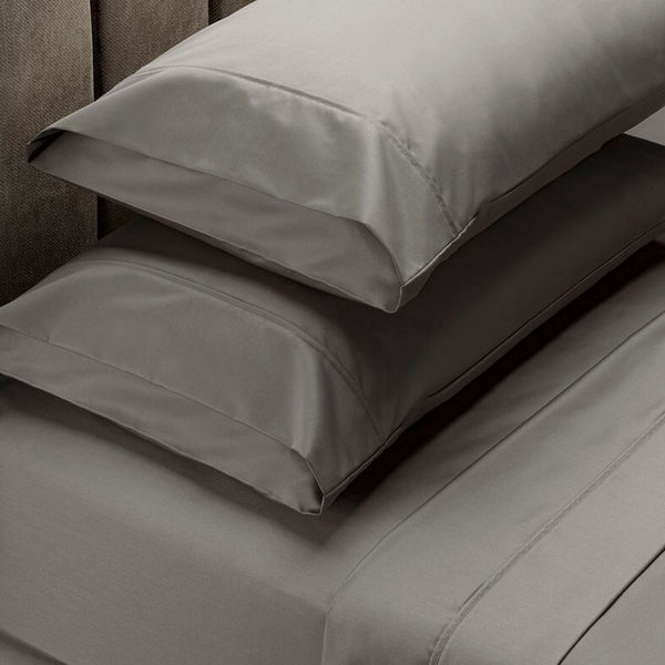 Royal Comfort 1000 TC Cotton Blend Sheet Sets - Queen - Charcoal