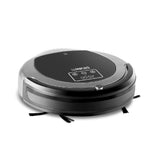 300ml Robot Vacuum Cleaner Black and Grey