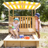 Jack Sandpit with Canopy