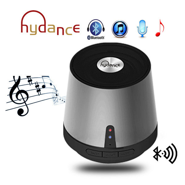 HYDANCE MAXI SOUND MP3 Player with Mini Bluetooth Speaker - SILVER