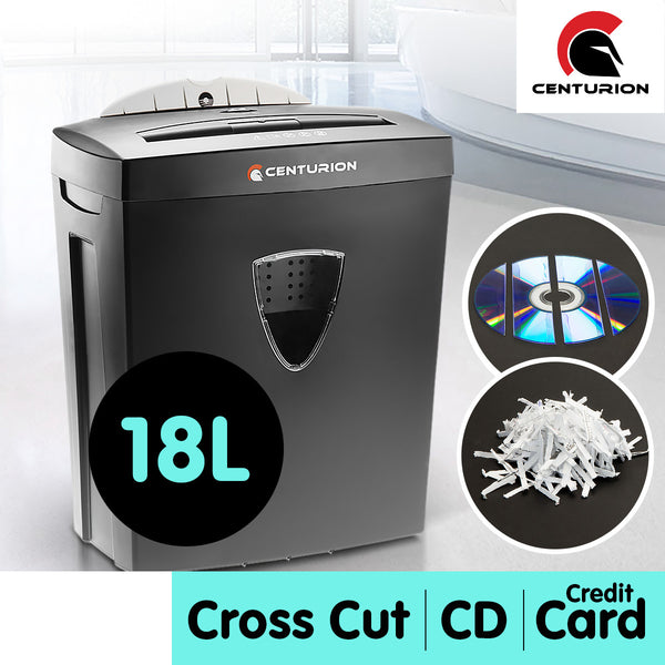 Centurion 18L 7 Sheet Paper CD Credit Card Shredder