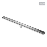 Tile Insert Stainless Steel Shower Grate Drain Floor Bathroom 800mm
