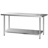 1829 x 762mm Commercial Stainless Steel Kitchen Bench