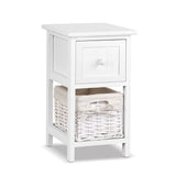 2 PCS Bedside Table - White