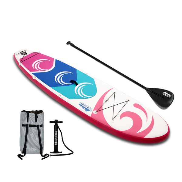 10FT Stand Up Paddle Board Inflatable SUP Surfboards 15CM Thick