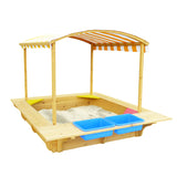 Playfort Sandpit with Cover