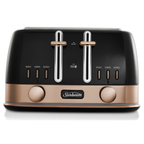 Sunbeam New York 4 Slice Toaster Black Bronze TA4440KB