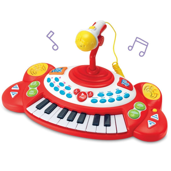 Beat Bop Superstar Electronic Keyboard with Microphone