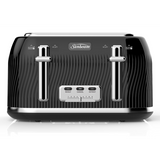 Sunbeam Coastal Collection 4 Slice Toaster - Black Pearl TA2540KP