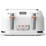 Sunbeam Coastal Collection 4 Slice Toaster - White Sand TA2540WS