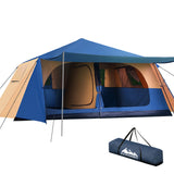 Instant Up Camping Tent 10 Person Pop up Tents Swag Family Hiking Dome Beach