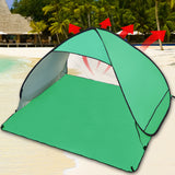 Pop Up Portable Beach Canopy Sun Shade Shelter Green
