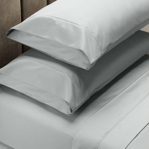 Royal Comfort 1000 TC Cotton Blend Sheet Sets - Queen - Silver