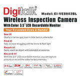 Wireless Inspection Video Camera