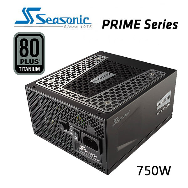 SEASONIC Prime 750w 80 plus Titanium SSR-750TD Active PFC F3 PSU