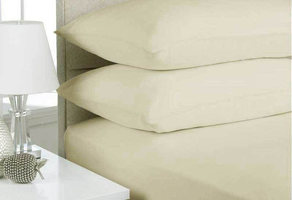 Mega-King-Size-Stone-Color-Egyptian-Cotton-Flannelette-Sheet-Set-(3PCS)-V62-DS_FLSHEPA3_STN_MK-afterpay-zippay-oxipay