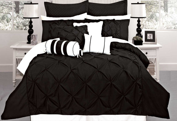 Queen-Size-Black-Diamond-Pintuck-Quilt-Cover-Set(3PCS)-V62-DS_S00008Q-afterpay-zippay