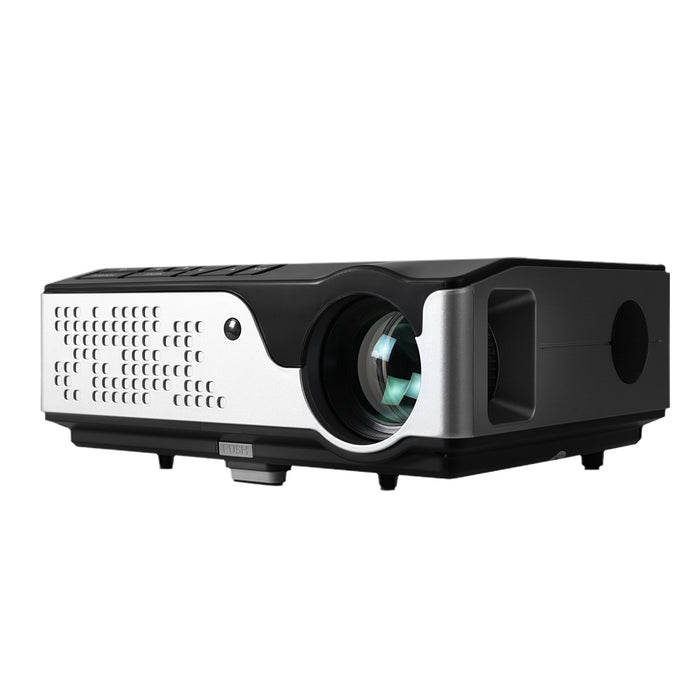Video Projector Wifi USB Portable 4000 Lumens HD 1080P Home Theater Black