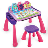 Vtech Touch and Learn Activity Desk Deluxe Pink