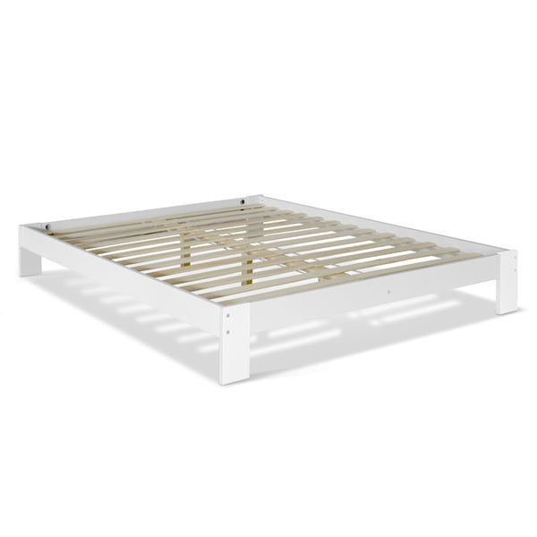 Artiss Queen Wooden Bed Base Frame