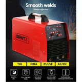 AC DC Inverter Welder TIG MMA Stick Welding Machine Pulse Function 250Amp