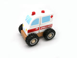 WOODEN BLOCK AMBULANCE RUBBER