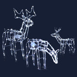 Christmas LED Motif Lights Rope Reindeer Waterproof Outdoor