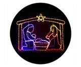 Motifs Lights - Nativity Scene